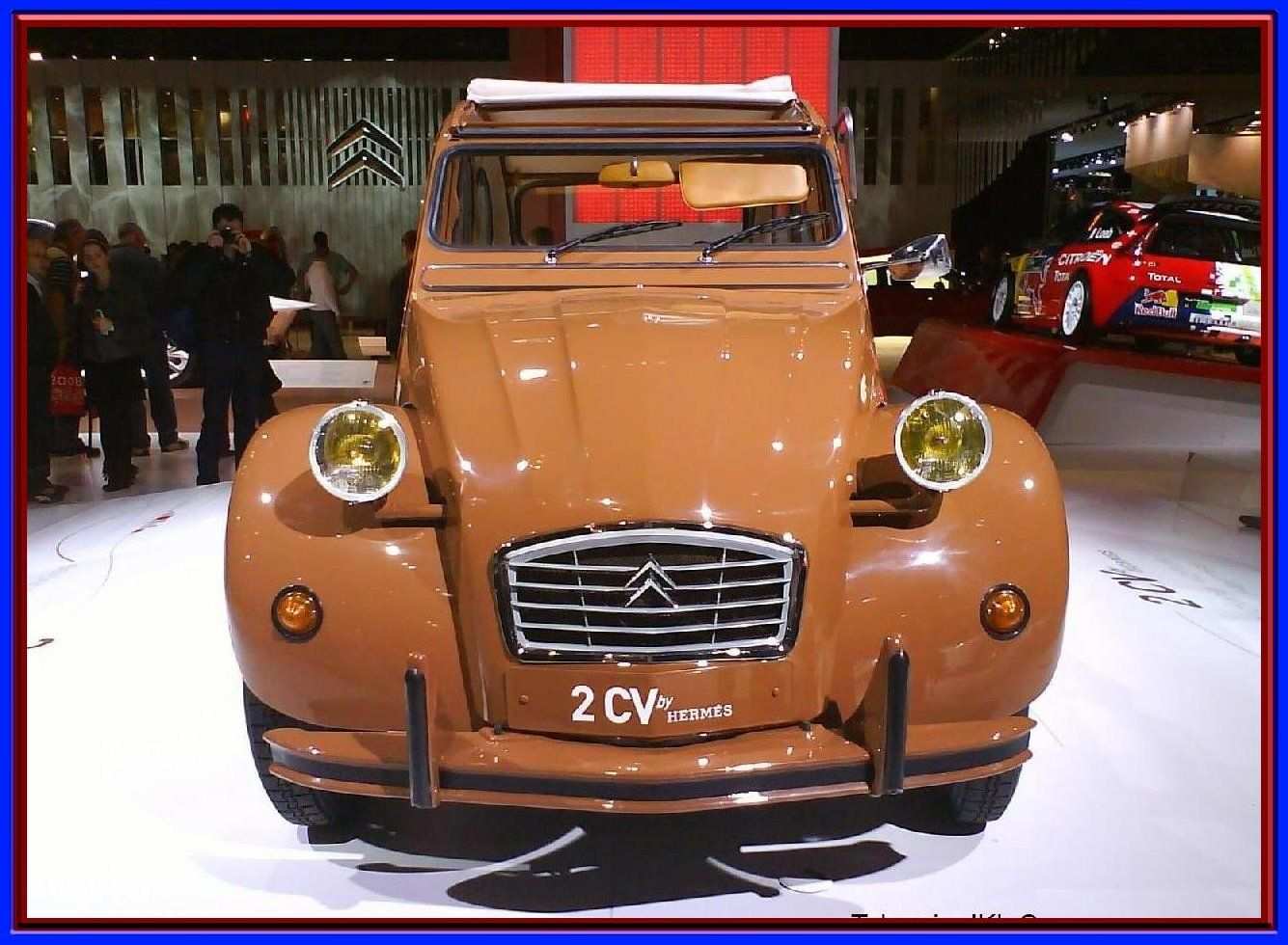voiture 2 cv